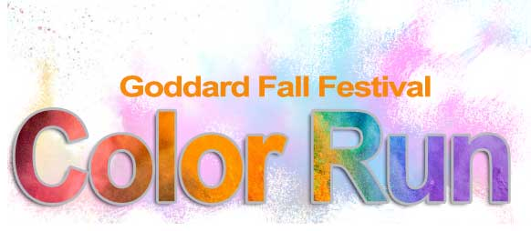 Goddard Fall Festival Color Run